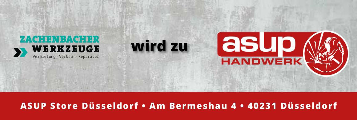Zachenbacher Werkzeuge wird zu Asup Handwerk