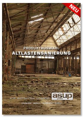 Produktauswahl - Altlastensanierung