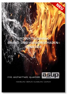 Broschüre Brand- und Wasserschadensanierer