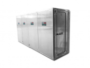 ENVIRO 4-Kammer Personalschleuse ALU / Mietgerät