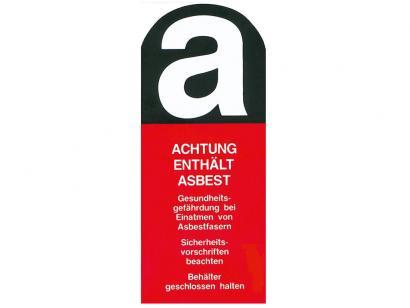 asup gmbh achtung enth lt asbest online kaufen. Black Bedroom Furniture Sets. Home Design Ideas