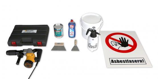 Set: BT 26 - Entfernung Asbest- bzw. PAK-haltiger Oberflächenversiegelungen und Anstrichstoffe von metallischen Oberflächen