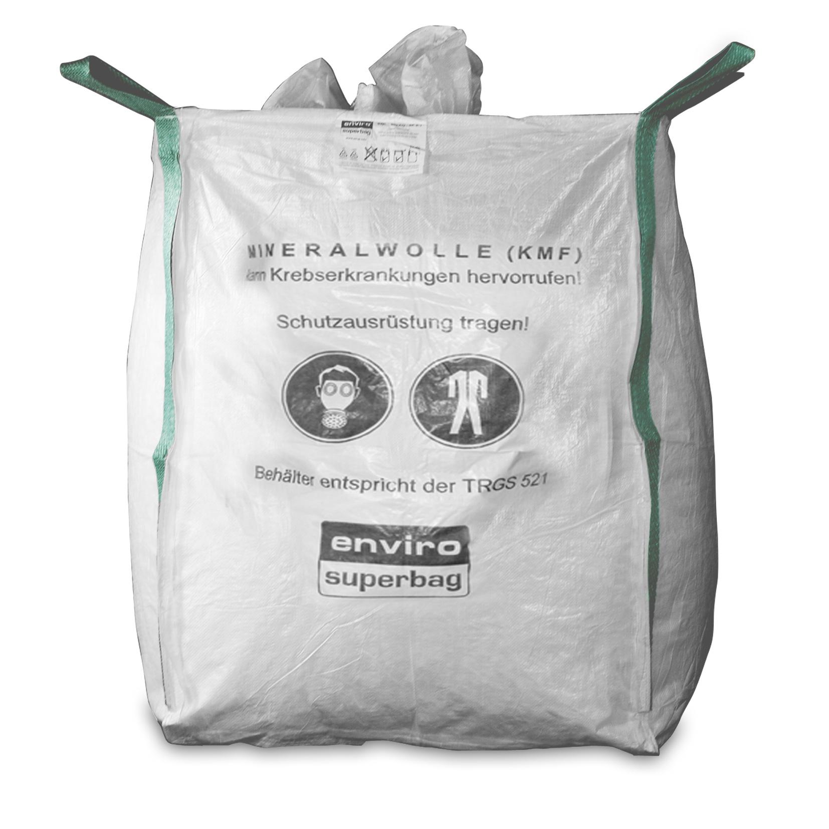 Neu MIRAWO Big Bag 90x90x120 cm, 4 Hebeschlaufen   Asup.info Online Shop RD82