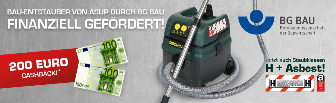 Bau-Entstauber BG BAU